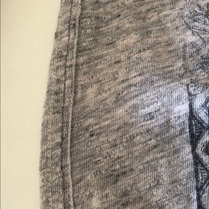 All Saints Tops - All Saints Dacelo Bird Print Tee